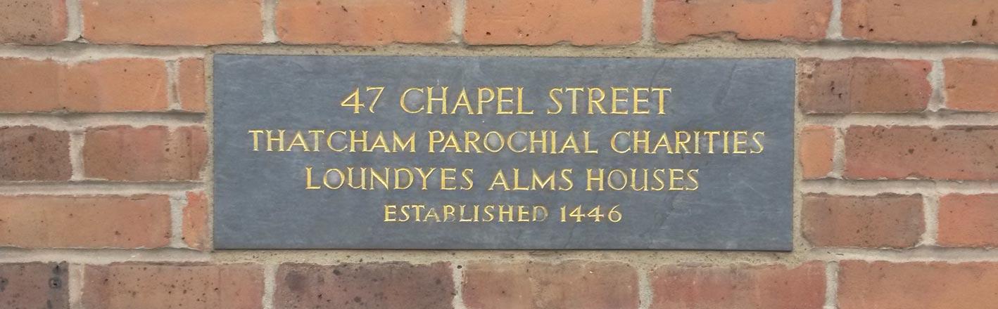 47 Chapel plaque